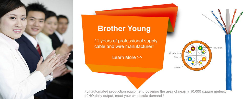 Brother young——11 years of professional supply  Cable and wire manufacturer!