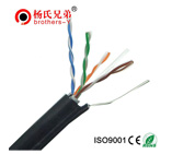 Certified CAT5E lan control network cable