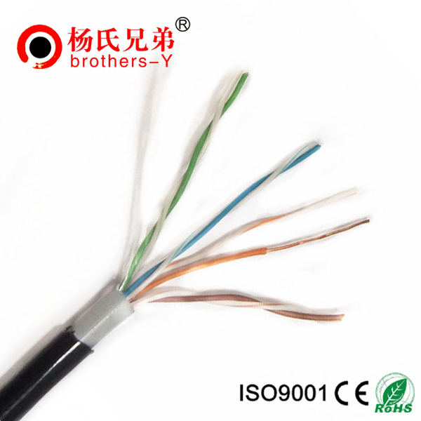 Cat5e outdoor bulk copper cable utpftp