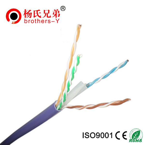 CE/ROHS/Fluke test pass 4pairs indoor UTP FTP SFTP Cat6 lan Cable