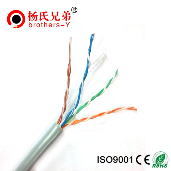 OEM network cable CU/CCA/CCS cat5e lan cable
