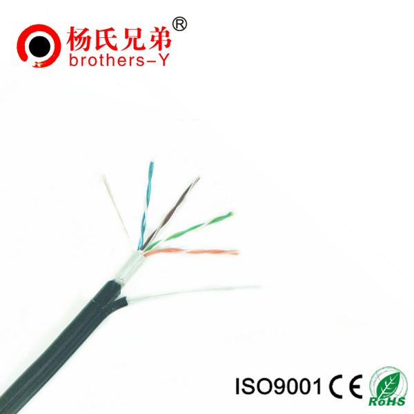 lan cable with messenger cat5e outdoor cable