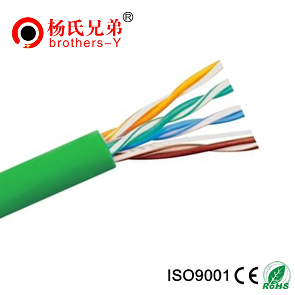 1000ft 24AWG Bare Copper FTP Cat5e 4 pairs Lan cable