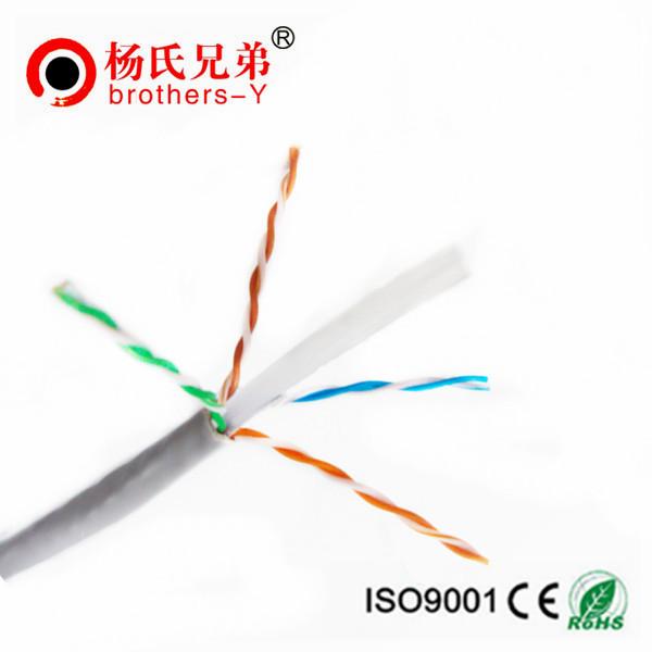 0.57mm Copper Ethernet CAT6 UTP Indoor Lan Cable