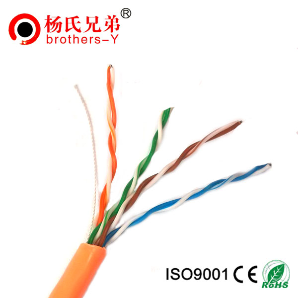 Indoor wiring 24awg OFC cat5e lan ethernet cable