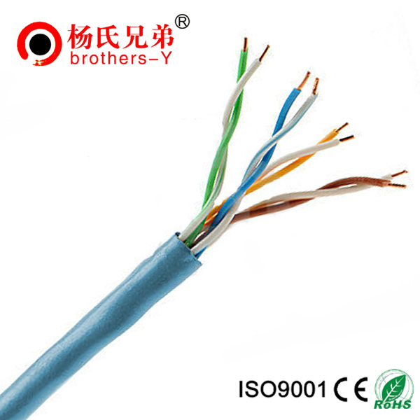 24awg utp color code cat5e lan cable