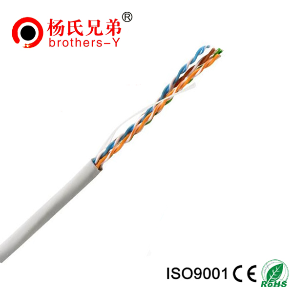 0.45-0.51mm solid copper,cca 24awg best price utp cat 5e lan cable