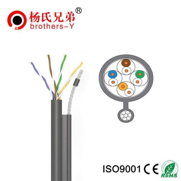 cat5e utp outdoor cable / cat5e utp lan cable /0.5mm cable