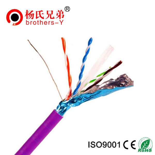 Custom design cat5e ftp ethernet lan network cable