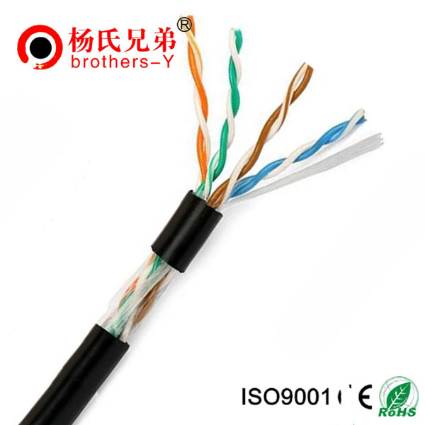 BC/CCA cat 5e lan cable 24awg for indoor/outdoor use