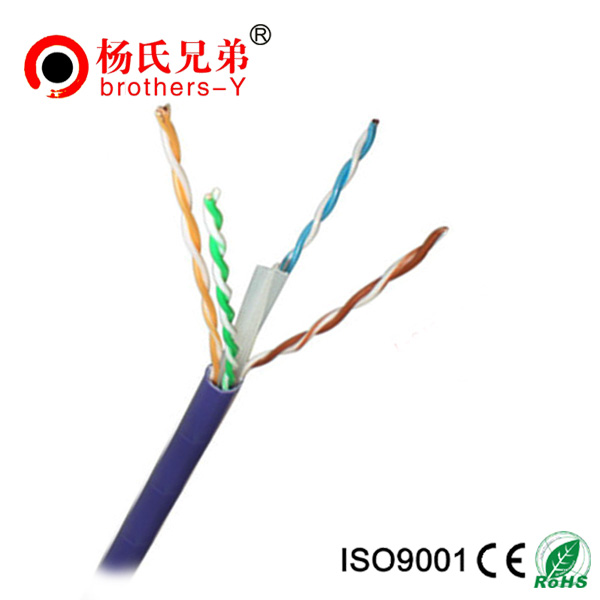 Rj45 Rj11 gigabit cat6 lan ethernet cable 24awg