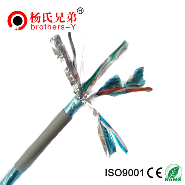 Colorful cat6a network cable from China factory