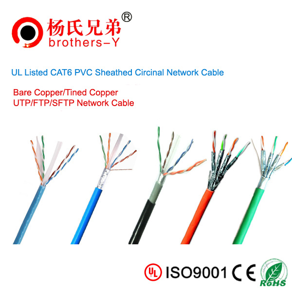 350MHZ CAT6 communication cable brothers-Y brand