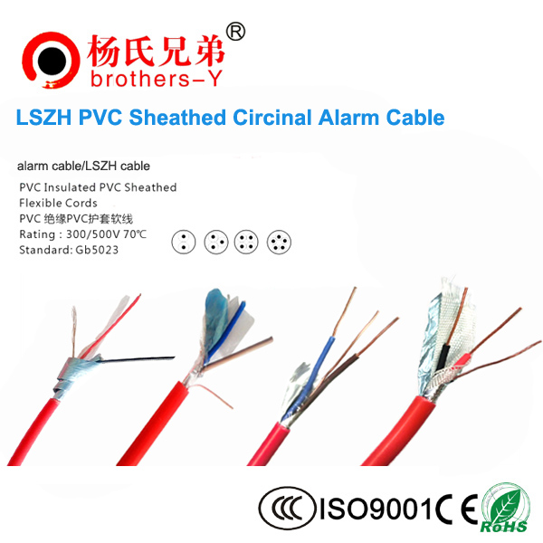 Solid Copper PVC Shield Fire Alarm Cable