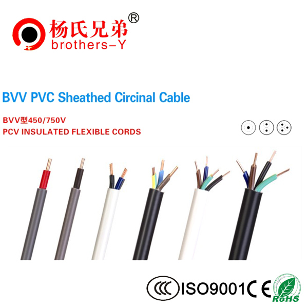 BVV PVC Sheathed Circinal Cable