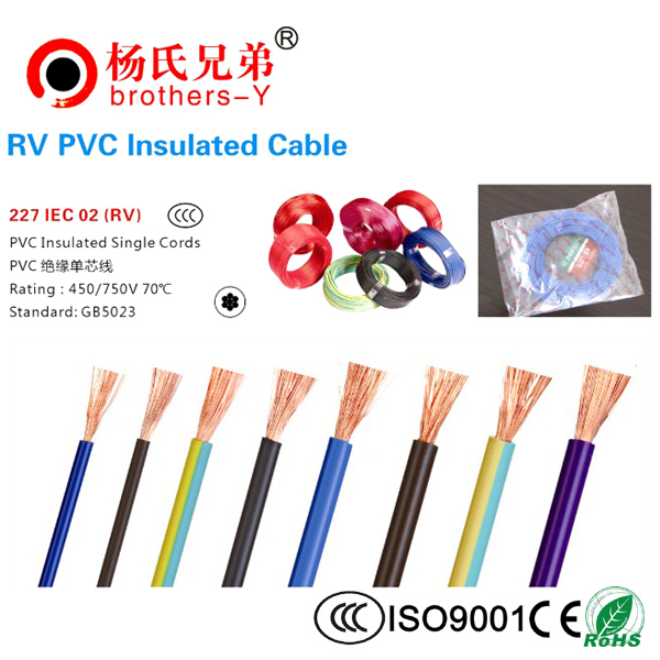RV PVC Insulated Cable