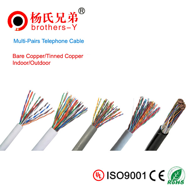 Multi-pairs telephone cable