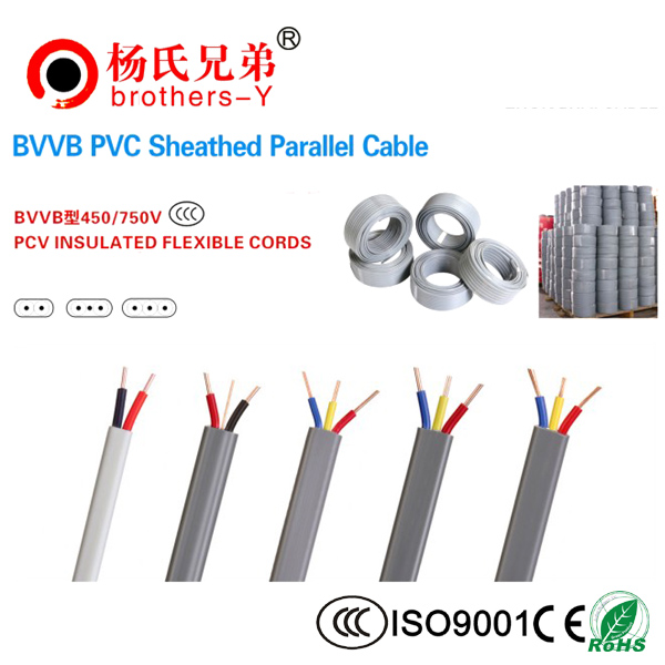 BVV PVC Sheathed Parallel Cable